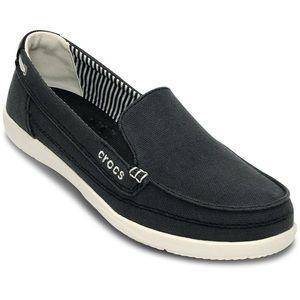 """""""Crocs"""" Women's Walu Canvas Loafer"""